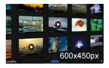 Cooliris 3D Wall Video and Images Gallery